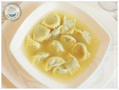 ©Diario della Mia Cucina - Ricette semplici, veloci e golose: Plin di arrosto di coniglio in brodo