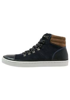 Ted Baker RUUW - High-top trainers - dark blue for £85.00 (14/05/15) with free delivery at Zalando