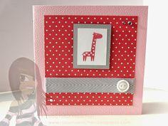 Stampin' Up! - Babykarte - Fox & Friends - rosamaedchen.blogspot.de