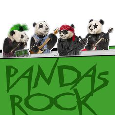 Pandas Rock Magnetic Bookmarks in Unusual Animal Lovers Gifts