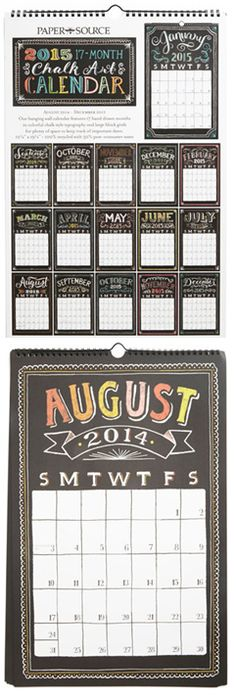 Cute calendar by Paper Source