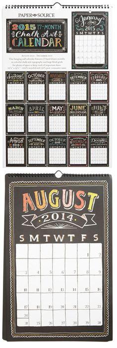 Cute calendar by Paper Source