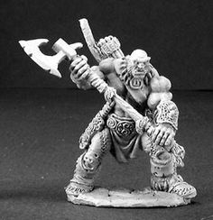 Dark Heaven Legends (Thelgar, Half Orc Barbarian 3197) 25mm Miniatures