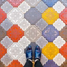 Sebastian Erras Photographed Floor Patterns in Barcelona — Bird In Flight Floor Patterns, Textile Patterns, Floor Design, Tile Design, Design Design, Pix Art, House Tiles, Tiles Texture, Terrazzo