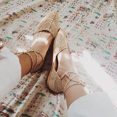 Raffia shoes original from Morocco.