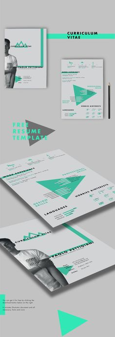 Designer & Developer Resume Template | Resumes | Pinterest ...