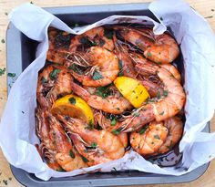 This would work well as a starter or scaled up for a main course. It's up to you whether you use shell on or shelled king prawns.