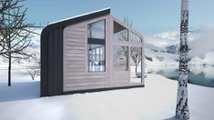 Tiny Eco-House By Salt & Water
