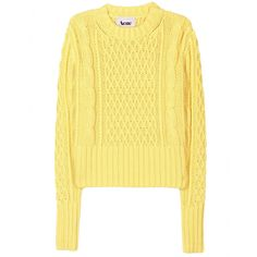 LIA CABLE KNIT PULLOVER seen @ www.mytheresa.com