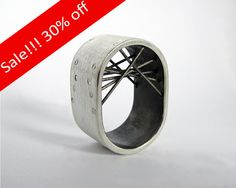 Silver Ring by GustavoParadiso on Etsy, €150.00