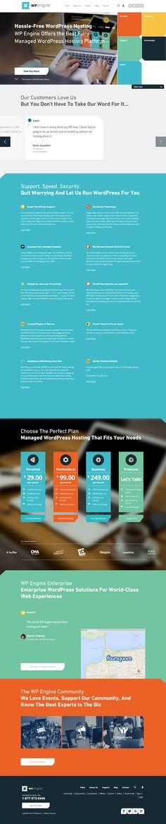 WPEngine_flat ui design