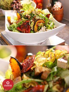 Ensalada de la huerta. 3 minutos con Santiago Giorgini. http://www.utilisima.com/recetas/11098-ensalada-de-la-huerta.html