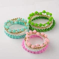 PandaHall Jewelry—Glass Beads Bracelets Item link:... | PandaHall Beads Jewelry Blog