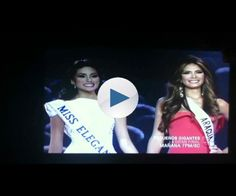 Miss Venezuela 2012 crowning moment (HD)