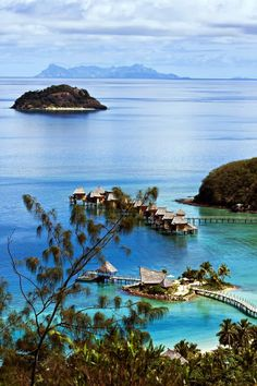 Floating Hotel~ Bora Bora Lagoon Resort & Spa ~ French Polynesia!