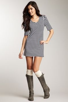 Caro Nautical Striped Dress.. I really like this, but could never pull it off. lol