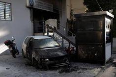 Επίθεση στο αστυνομικό τμήμα Πεύκης Vehicles, Car, Automobile, Autos, Cars, Vehicle, Tools