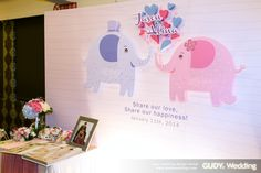 GUDY Wedding 婚禮設計 - 婚禮佈置 ♥ 板橋海釣船X幸福小象