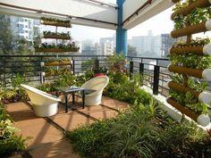 awesome vertical garden living wall balcony privacy ideas balcony garden