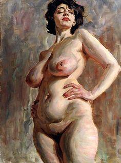 """Marina,"" 1998, oil on canvas, Victor Lyapkalo"