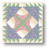 Old Maid's Puzzle Quilt Block