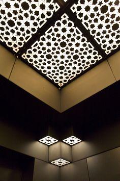 Museum of Islamic Art I.M.Pei.........beautiful ceiling!!