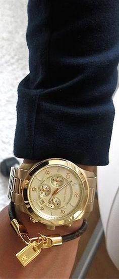 MK and Louis Vuitton bracelet