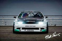 Matt Powers' Nissan S14 Formula Drift car.
