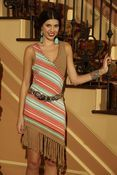Roja Collections Asymmetric Serape Dress  Roja Spring items now available for pre-order!