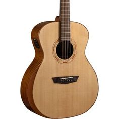 Flight Tracker Washburn Hg120swek All Solid Grand Auditorium Acoustic Electric Guitar W/ Case Acoustic Electric Guitars Musical Instruments & Gear