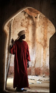 Africa | Youssouf, Mosque of Koro Segou. Mali | ©Marsoyann, via flickr
