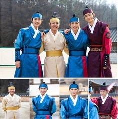 The Moon That Embraces the Sun ♥ - young Yang Myung (Lee Min-Ho), young Hwon (Yeo Jin Goo), young Yeom (Siwan), young Woon (Lee Won Gun)