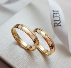Couple Ring Design, Plain Gold Ring, Gold Pendent, Our Wedding, Wedding Rings, Womens Wedding Bands, Couple Rings, Ring Designs, Gold Rings