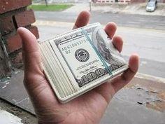 Carteira - Notas de 100 dólares (fotos) ~ Escola de bolsa | Aprender a investir