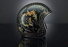 Versace custom helmet barocco