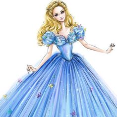 najennya:#illustration for @disneycinderella #doll