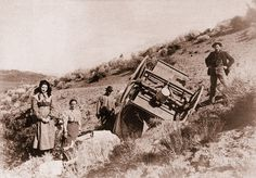 These Oregon Trail pioneers were lucky they weren't seriously injured or even killed when their wagon overturned on them. Yet they might say their hardships were well worth the price of freedom; and it is for that unique Western experience that preserving the Oregon Trail is vastly important to our national heritage.    – True West Archives –