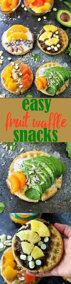 Easy Fruit Waffle Sn