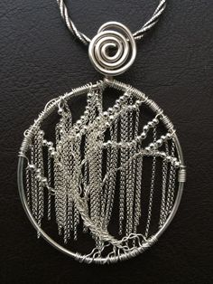 Weeping willow Tree of Life by Midnight Creations by Donnie on Facebook.: