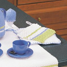 Buy Free Pattern Lily Sugar 'N Cream Striped Pot Holder from the Knitting Patterns range at Hobbycraft. Free UK Delivery over and Free Returns. Potholder Patterns, Dishcloth Knitting Patterns, Knit Dishcloth, Free Knitting, Knitting Bags, Knitting Stitches, Free Baby Patterns, Craft Patterns, Knit Patterns