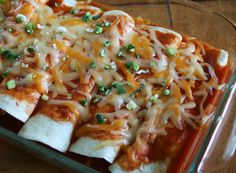 Slow Cooker Awesome Enchiladas