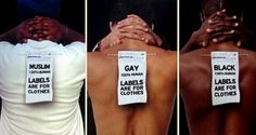 Labels are for clothes, not people