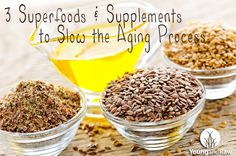 3 Superfoods & Supplements to Slow the Aging Process