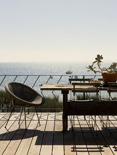 view from my future home. love the railing Property Design, Bright Homes, Outdoor Spaces, Outdoor Decor, Contemporary Interior Design, Dream Vacations, Vacation Spots, Scandinavian Home, Beach Cottages