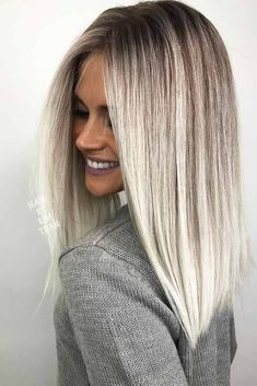 18 Inspiring Long Bob Hairstyle Ideas ★ Straight Long Bob Hairstyles Picture 3 ★ See more: http://glaminati.com/long-bob/ #longbob #longbobhairstyle #HairStyles