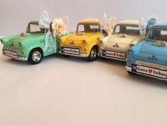 Farklı nikah şekeri isteyenler için tasarladığımız vintage araba nikah şekeri..