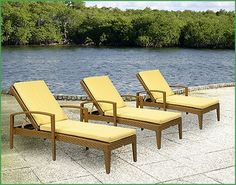 Cottage and Bungalow The Outdoor Wicker Bayside Chaise