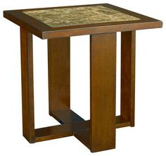 Hammary Marika End Table - traditional - furniture - Beyond Stores