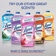 Lysol Clean & Fresh Multi-Surface Cleaner, Cherry Blossom & Pomegranate, 48oz