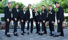 Pink groomsmen socks | Shadowbrook | Annette Jenkins Photography| Contemporary Bride Magazine
